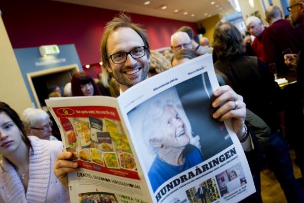 I hässleholm va det fler som firade 100 år...