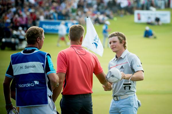 Pepperell tackar Stenson för sista dagens runda på Nordea masters