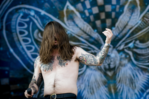 Kvelertak (NO) at Sweden rock festival