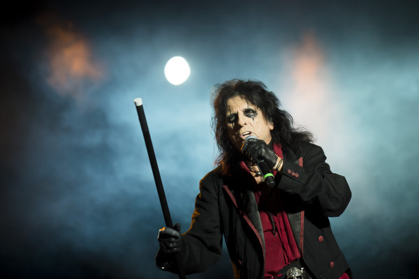 Alice Cooper (US) at Sweden rock festival