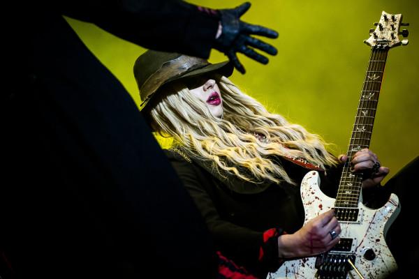 Alice Cooper (US) at Sweden rock festival
