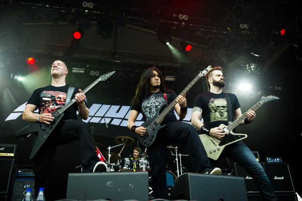 Annhilator (CAN) at Sweden rock festival