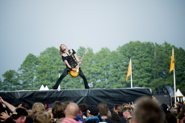 Danger Danger (US) at Sweden rock festival
