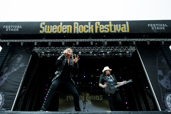 Pretty Maids (DK) at Sweden rock festival