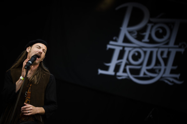 Riot Horse (S) at Sweden rock festival