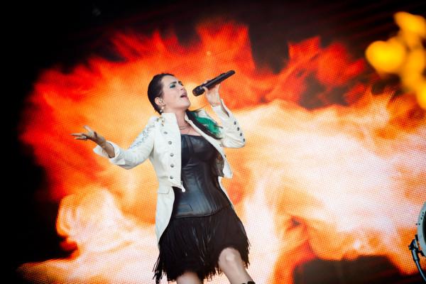 Within Temptation (NL) at Sweden rock festival
