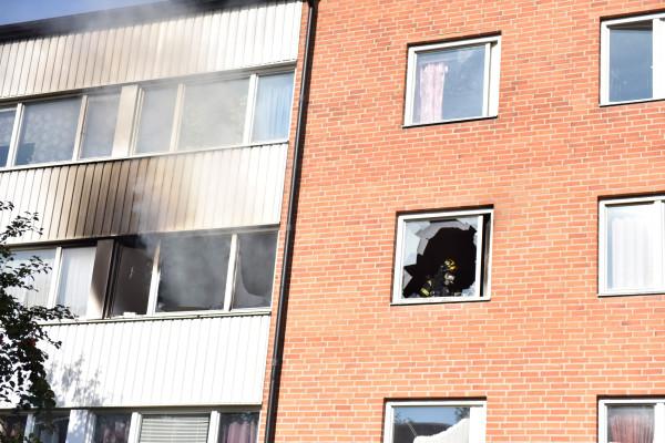 Lägenhetsbrand